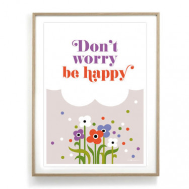 Affiche - Don't worry be happy
