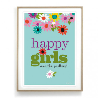 Affiche - Happy girls