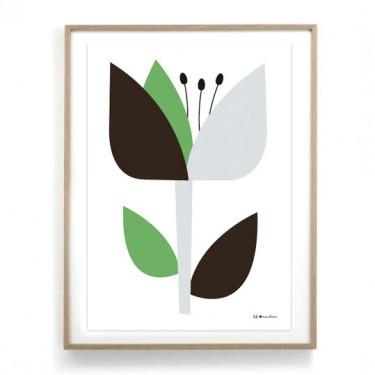 Affiche Jane - Vert
