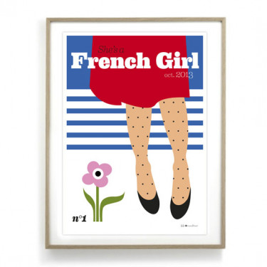 Affiche - French Girl
