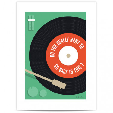 Mini Affiche - Do you really want ...