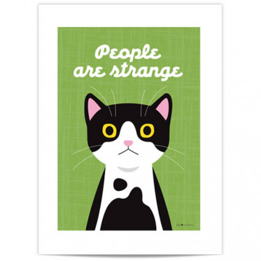 Mini Affiche - People are strange