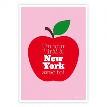 Carte postale - New York avec toi