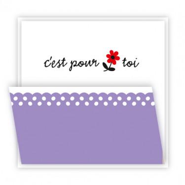 Carte - Ninon - C'est pour toi