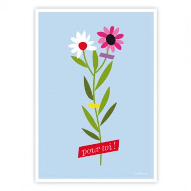 Carte postale - Pour toi