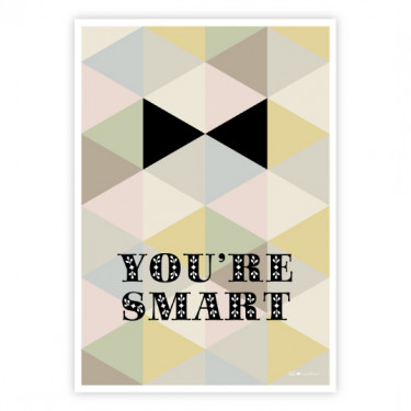 Carte postale - You're smart