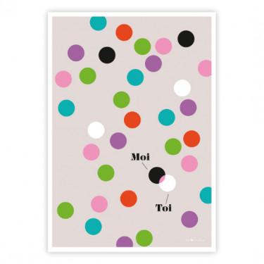 Carte Postale - Toi + Moi