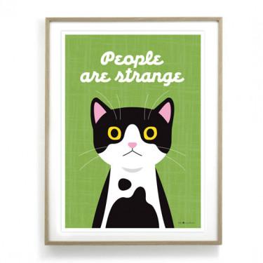 Affiche - People are strange
