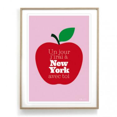 Affiche - J'irai à New York avec toi