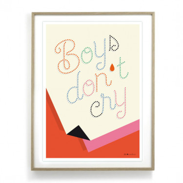 Affiche - Boys don't cry