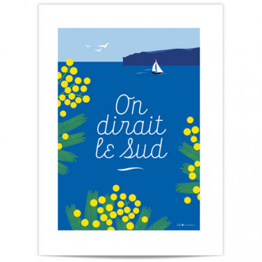 Mini Affiche - On dirait le Sud