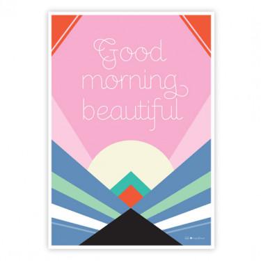 Carte postale - Good morning ...