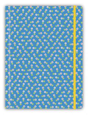 Grand cahier - Fleurettes